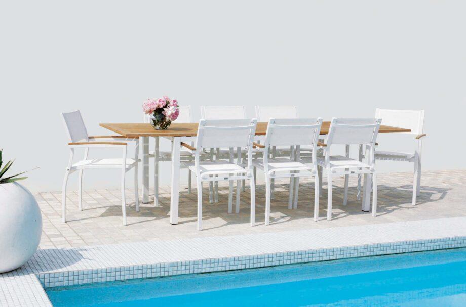 dt s3245ws2049w setting 920x607 - St. Tropez - Spisebord 190, uttrekksbord