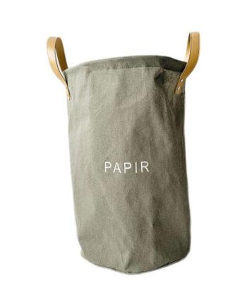 """459112 350x435 - Oppbevaring """"Papir"""" - Grønn"""