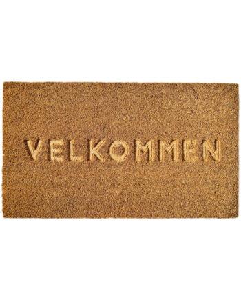 "584016 350x435 - Dørmatte ""Velkommen"""
