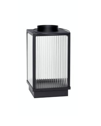 """Skjermbilde 2021 08 19 kl. 11.55.52 350x435 - Lanterne """"Glass & metall"""" - Sort matt, small"""