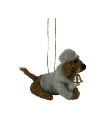 Skjermbilde 2021 09 27 kl. 12.09.30 350x435 - Julepynt - Dog w/hat and jacket
