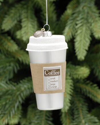 P029234 350x435 - Julepynt - Glass coffee cup