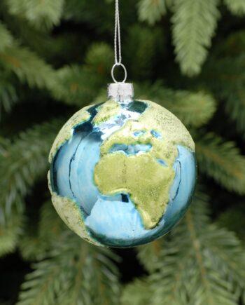 P030883 350x435 - Julepynt - Glass Earth ball