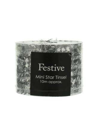 Skjermbilde 2021 10 06 kl. 14.13.22 350x435 - Tinsel - Star tinsel Silver 10 meter